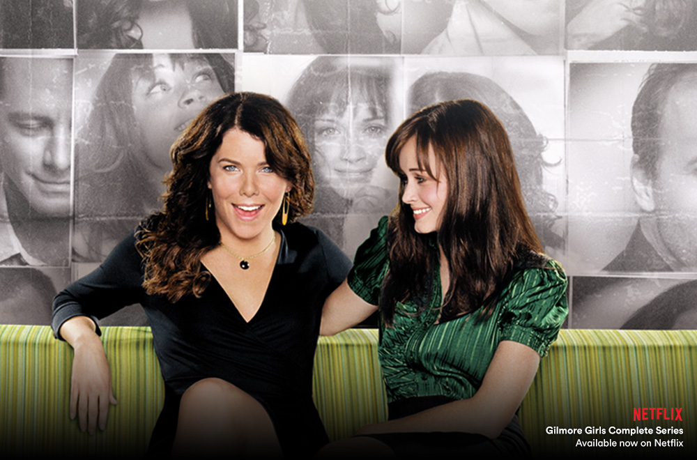 Gilmore Girls now on Netflix with Virgin TV