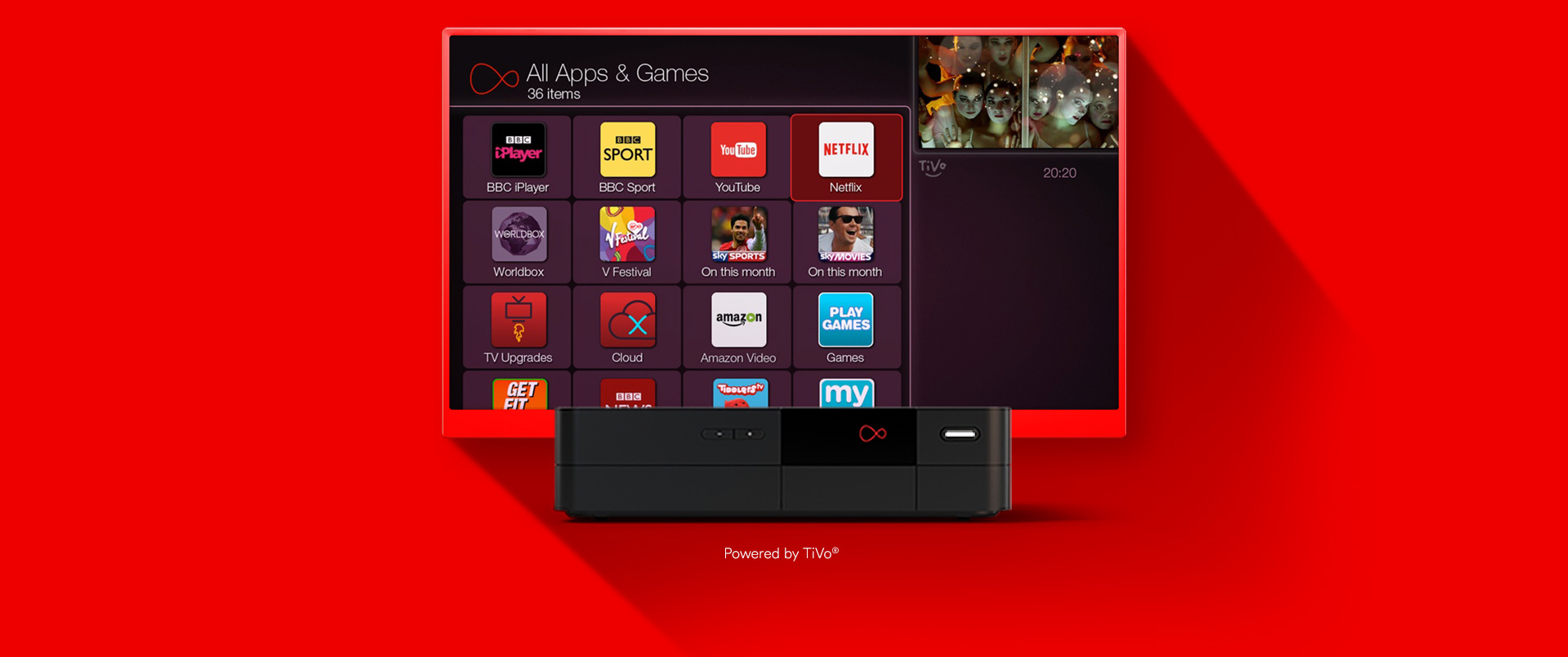 virgin tv netflix app