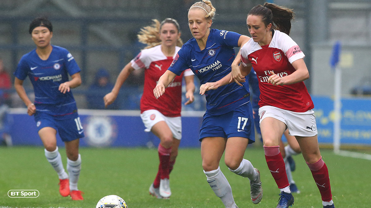 Women's Super League Arsenal v Chelsea