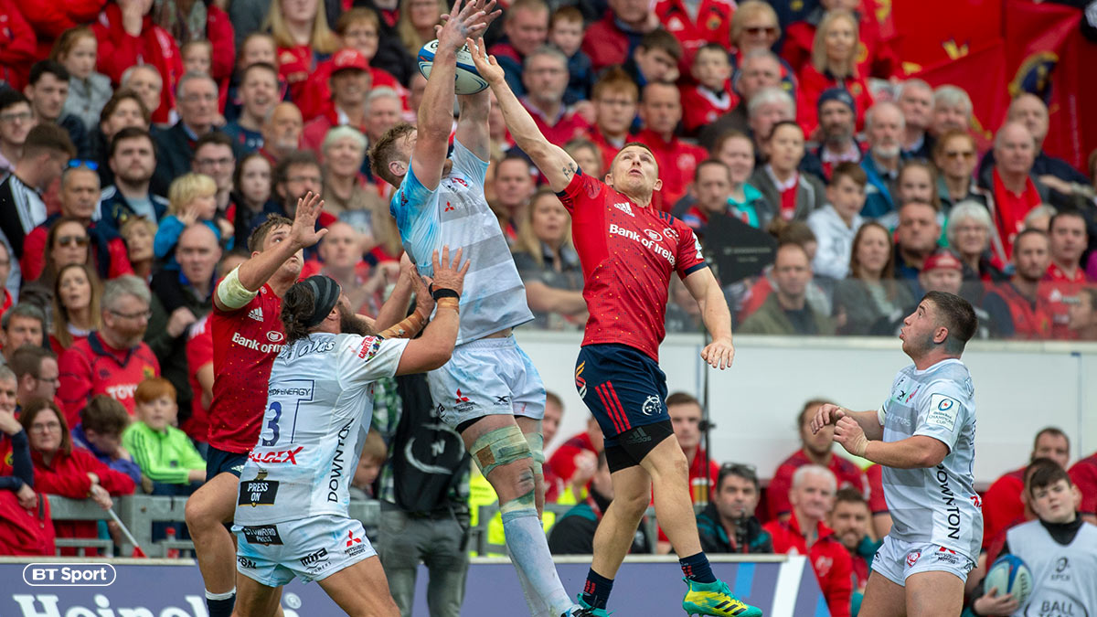 European Rugby Champions Cup: Gloucester v Munster