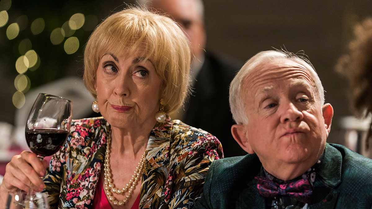 Paula Wilcox in Living The Dream on Sky One