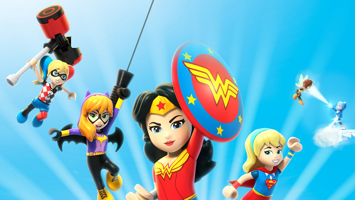 LEGO DC Super Hero Girls: Super-Villain High on Sky Cinema