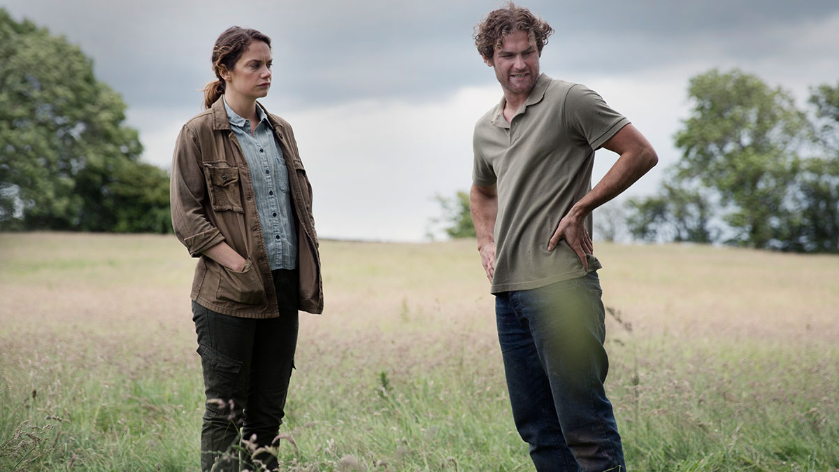 Ruth Wilson and Mark Stanley in Dark River