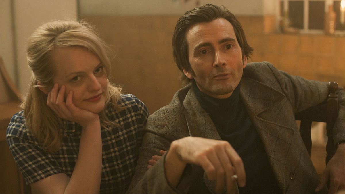 David Tennant and Elisabeth Moss in Mad To Be Normal