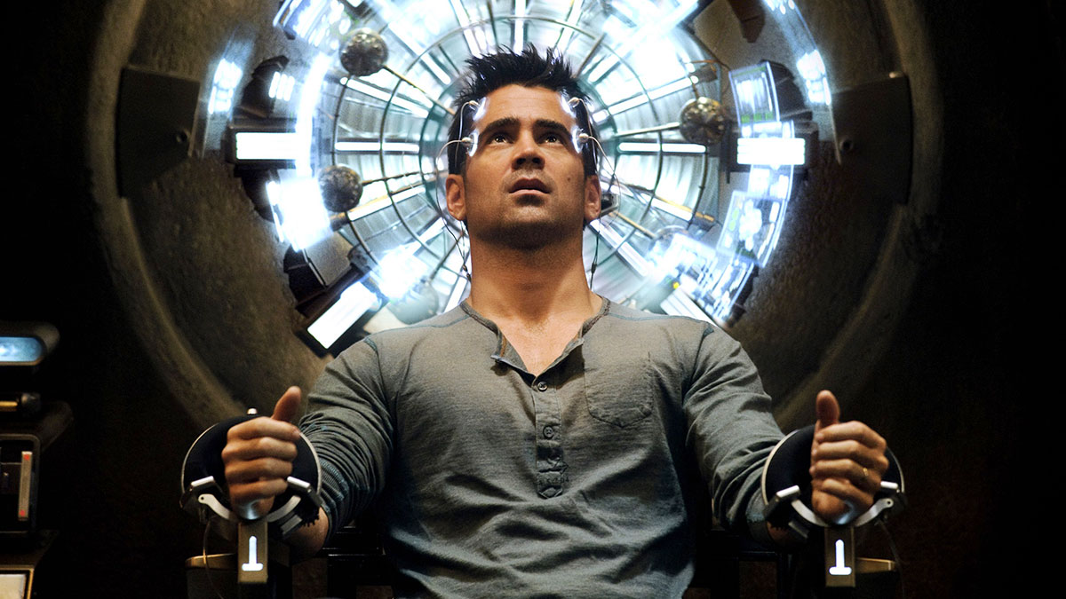 Colin Farrell in Total Recall