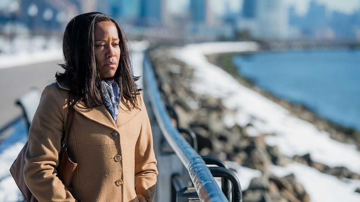 Regina King in Netflix's Seven Seconds