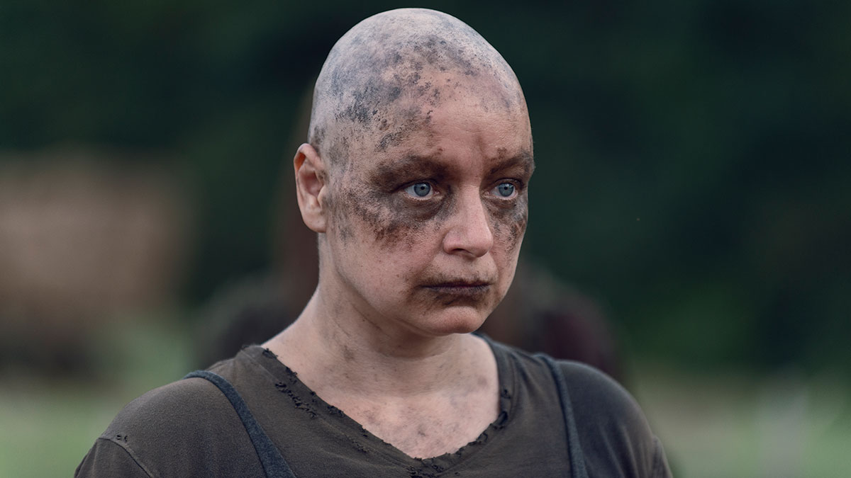Samantha Morton as Alpha in season 9 of The Walking Dead