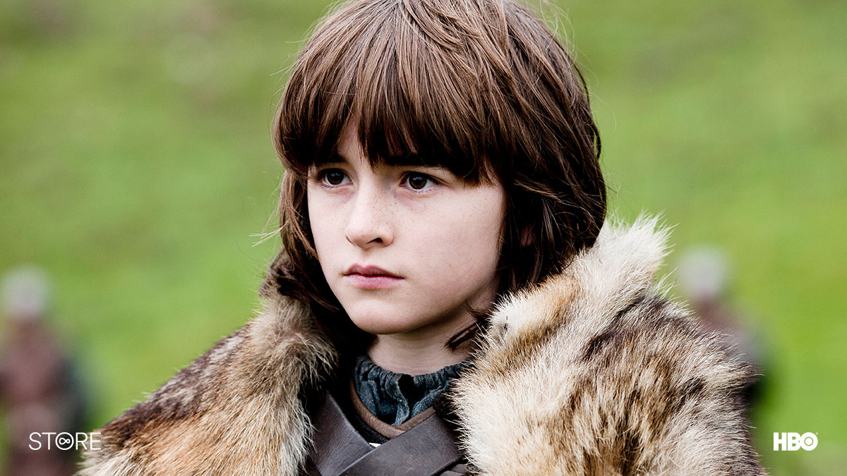 A young Bran Stark in Game Of Thrones