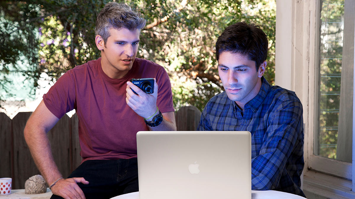 Nev Schulman and Max Joseph in Catfish: The TV Show
