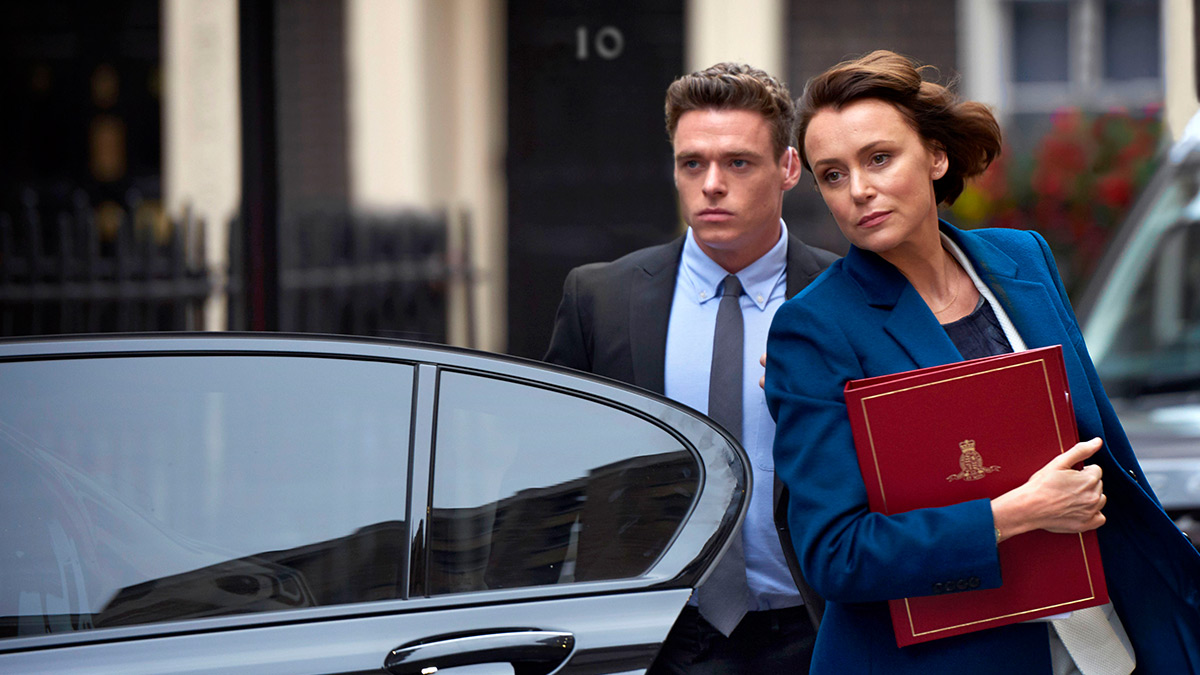 Bodyguard stars Richard Madden and Keeley Hawes
