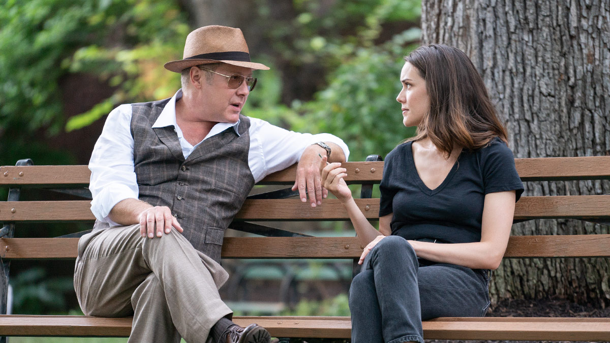 The Blacklist stars James Spader and Megan Boone