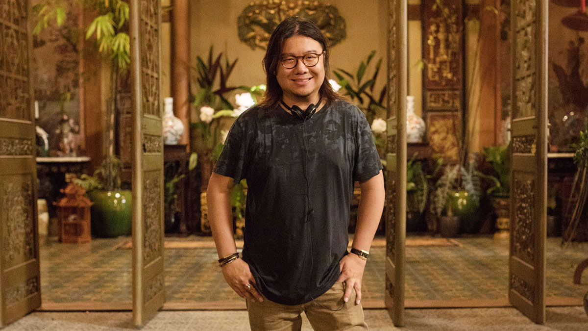 Kevin Kwan, writer of Crazy Rich Asians