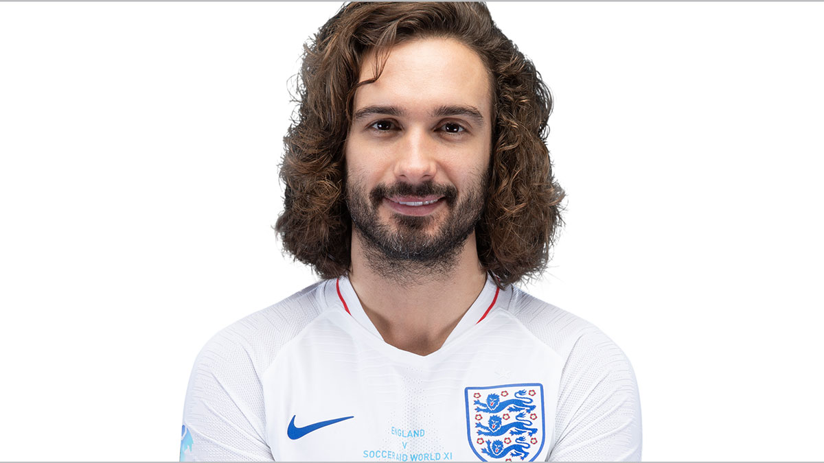 Soccer Aid player Joe Wicks
