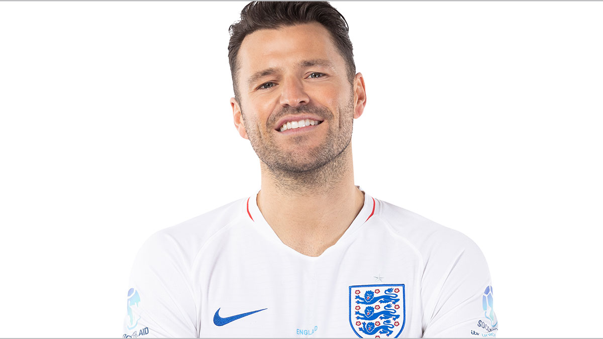 Soccer Aid player Mark Wright