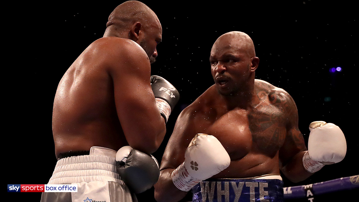 Dillian Whyte heavyweight boxer