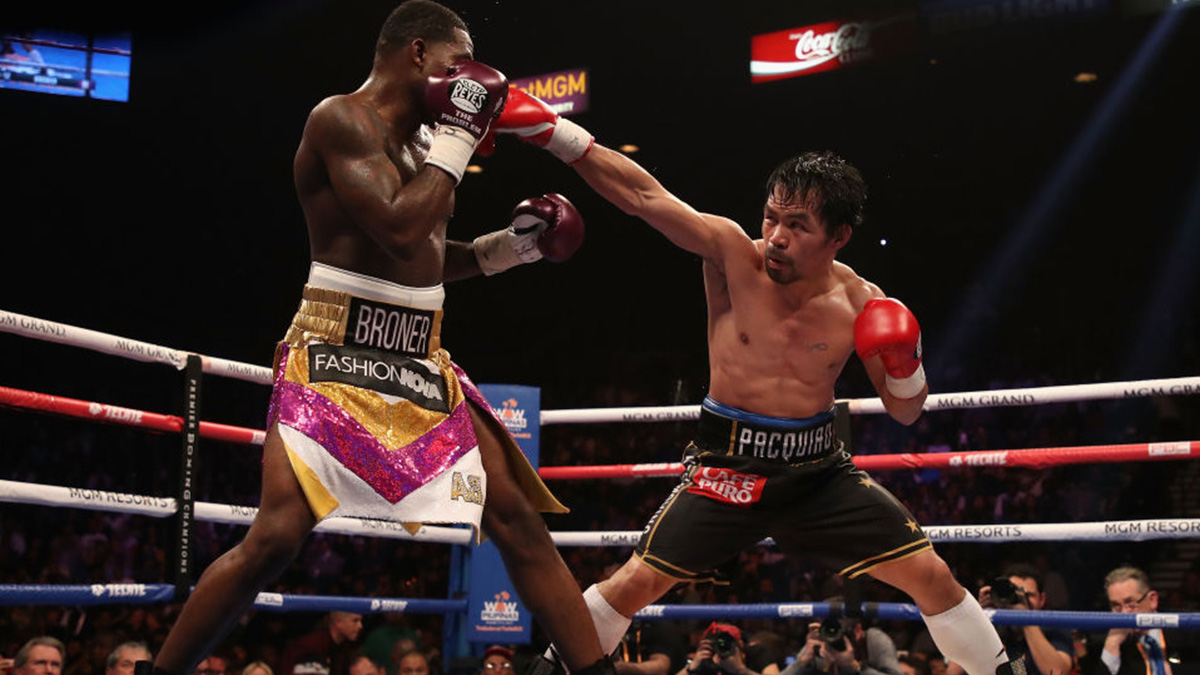 Manny Pacquiao welterweight boxer
