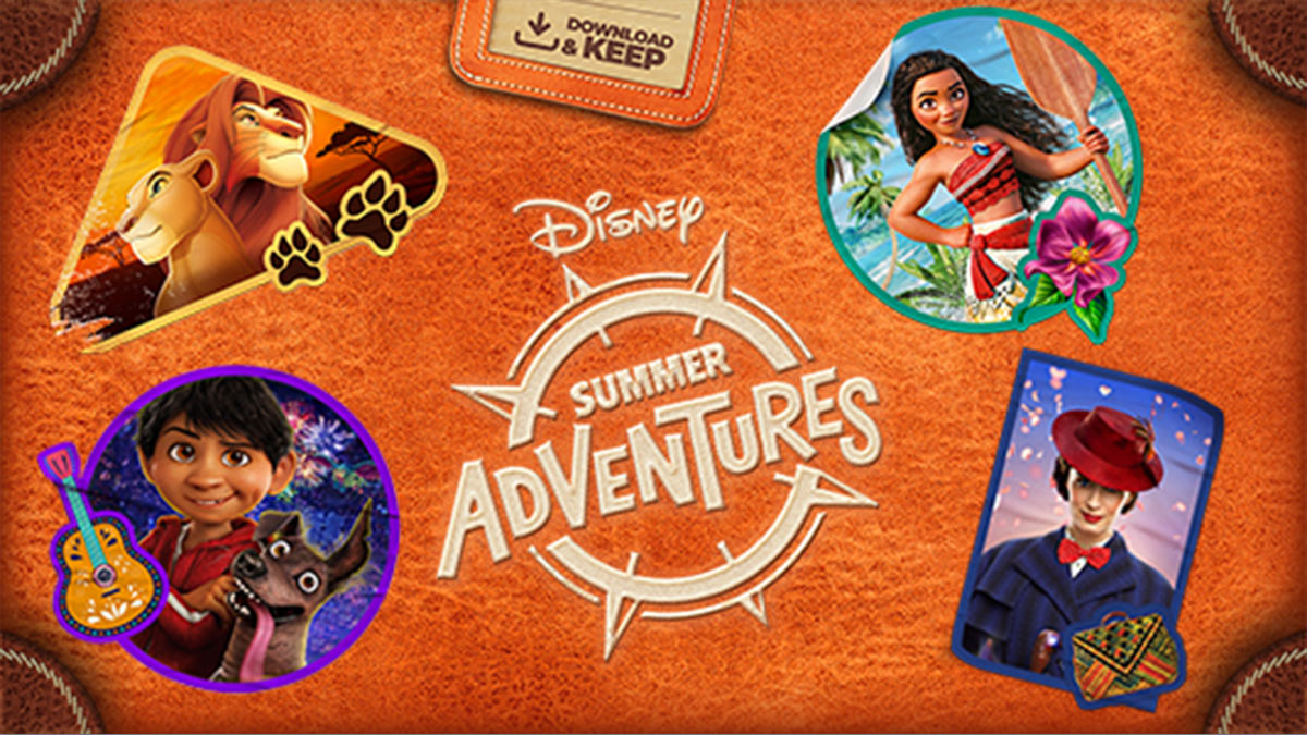 Disney Summer Adventures Collection