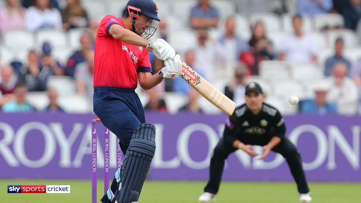 Cricketer Alastair Cook playing for Essex Eagles