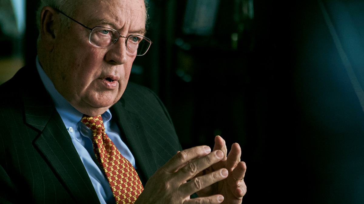 US lawyer Ken Starr in The Clinton Affair