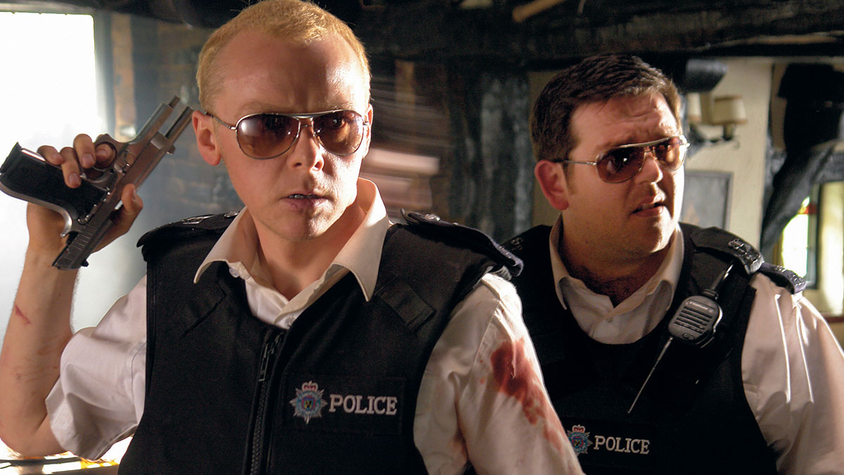 Simon Pegg and Nick Frost in Hot Fuzz