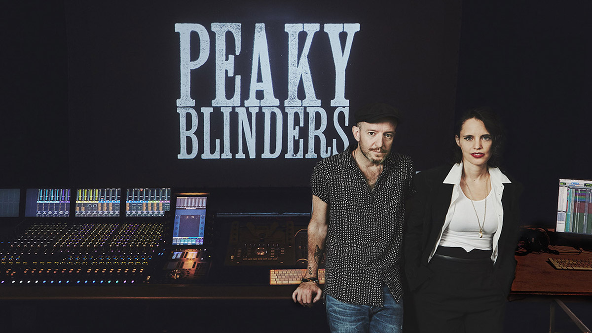 Peaky Blinders director Anthony Byrne and composer Anna Calvi