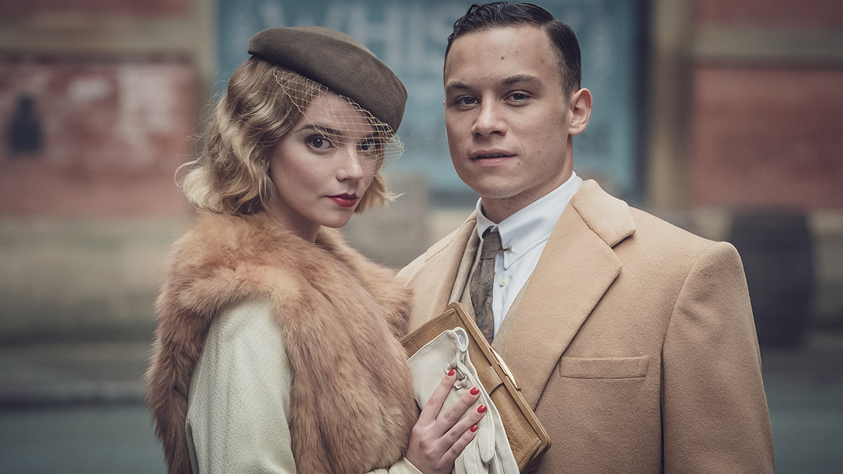 Peaky Blinders stars Anya Taylor-Joy and Finn Cole