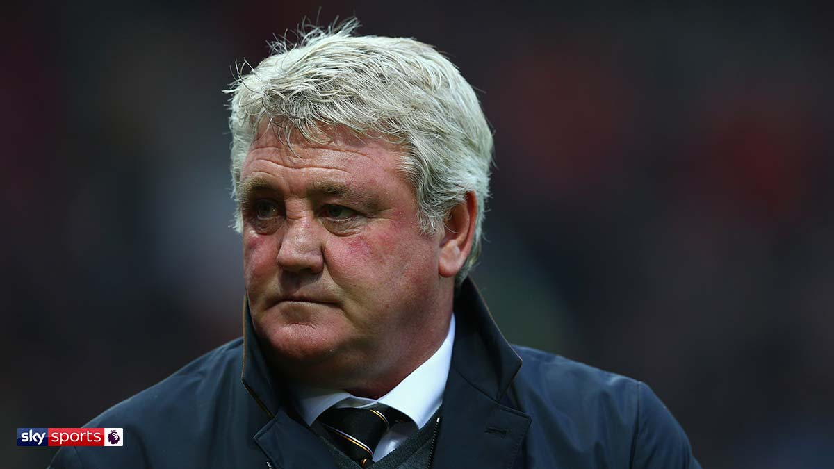 Newcastle United manager and former Manchester United player Steve Bruce