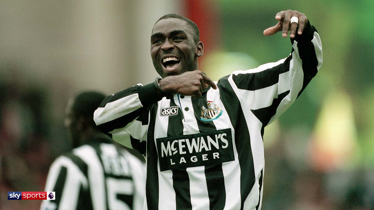 Former Manchester United and Newcastle United player Andy Cole