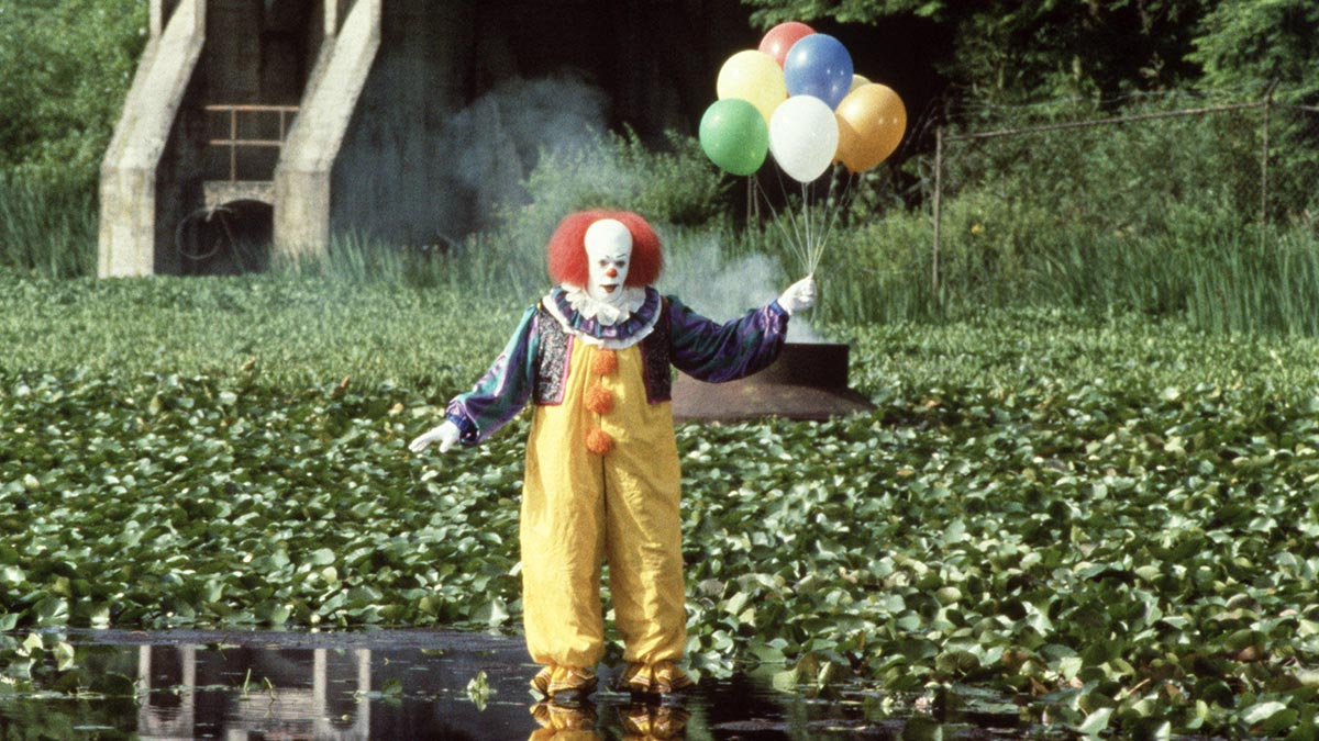 Tim Curry in Stephen King's It