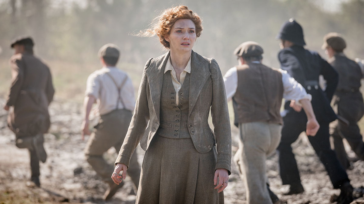 Eleanor Tomlinson in The War Of The Worlds on BBC One