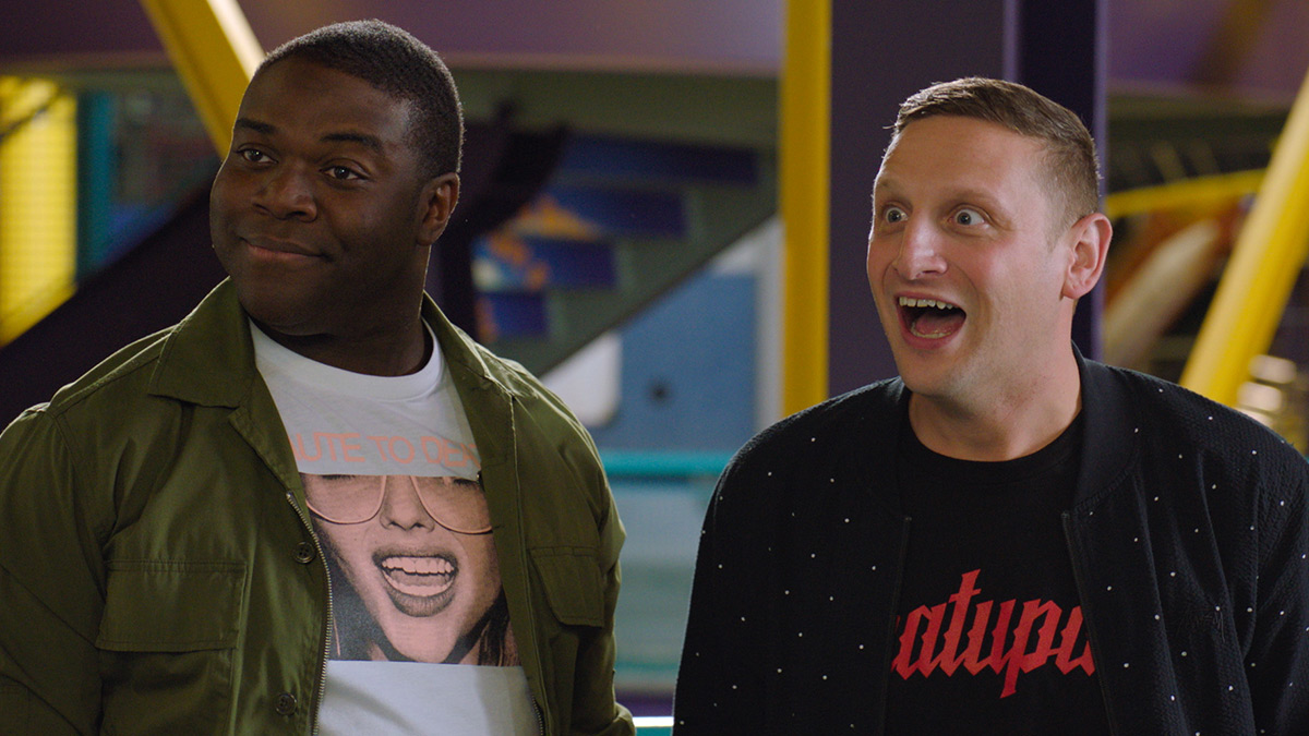 Sam Richardson and Tim Robinson in Detroiters