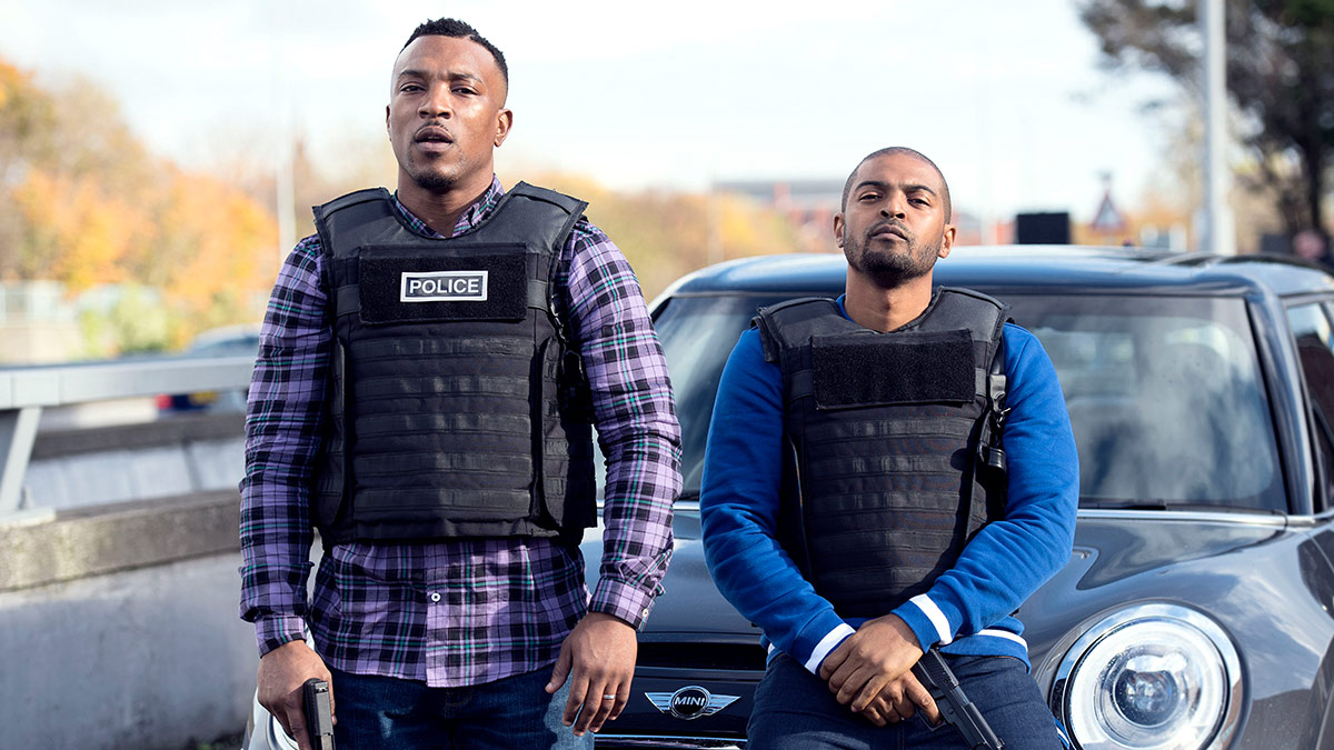 Ashley Walters and Noel Clarke in Bulletproof