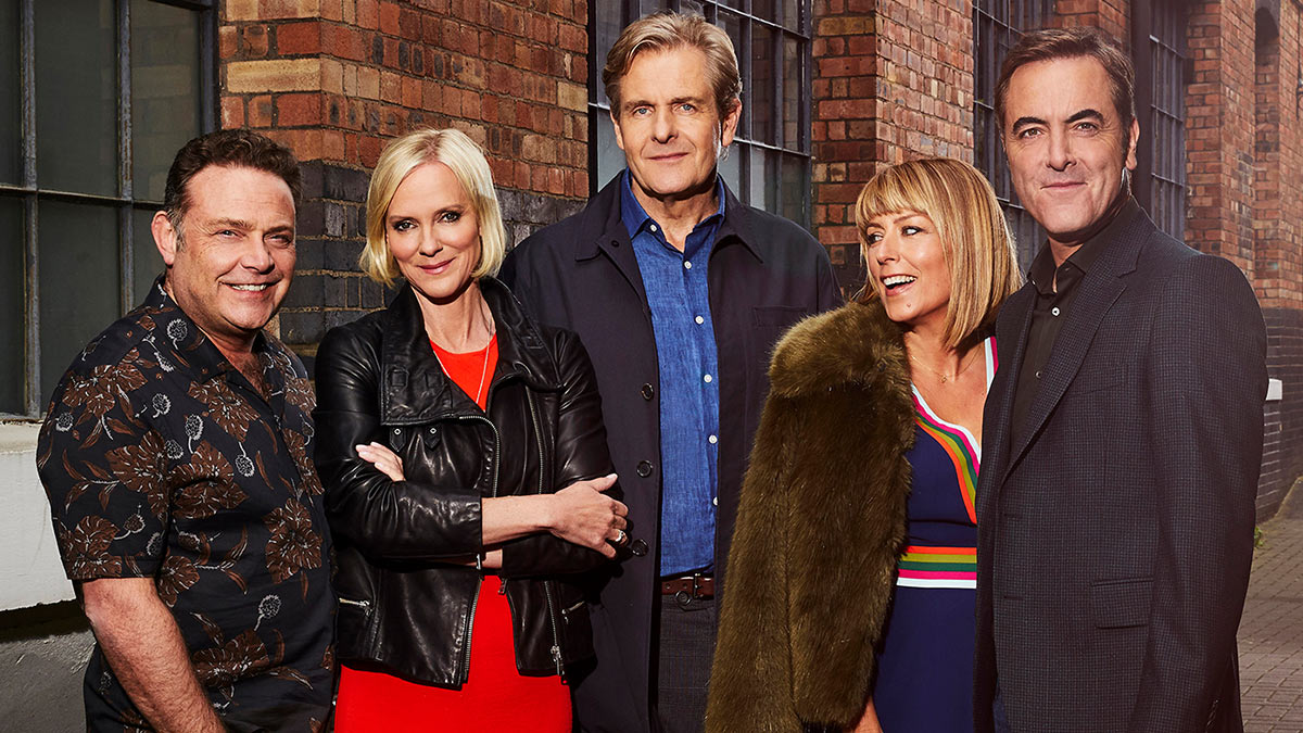 John Thomson, Hermione Norris, Robert Bathurst, Fay Ripley and James Nesbitt in Cold Feet