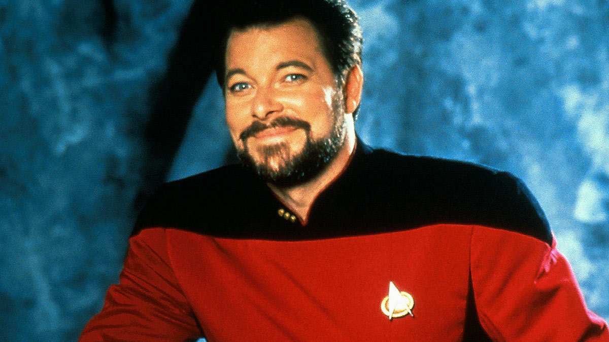 Jonathan Frakes as William Riker – Star Trek