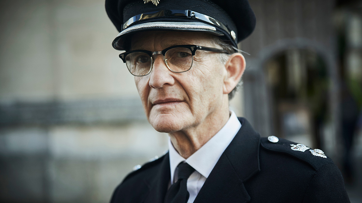 Anton Lesser as Reginald Bright in Endeavour