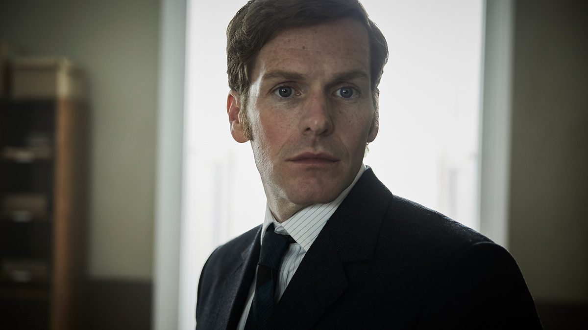 Shaun Evans as Inspector Morse in Endeavour