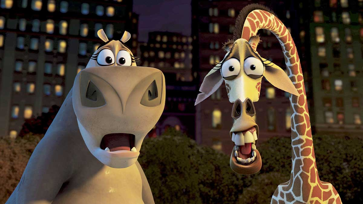 David Schwimmer, voice of Melman in Madagascar