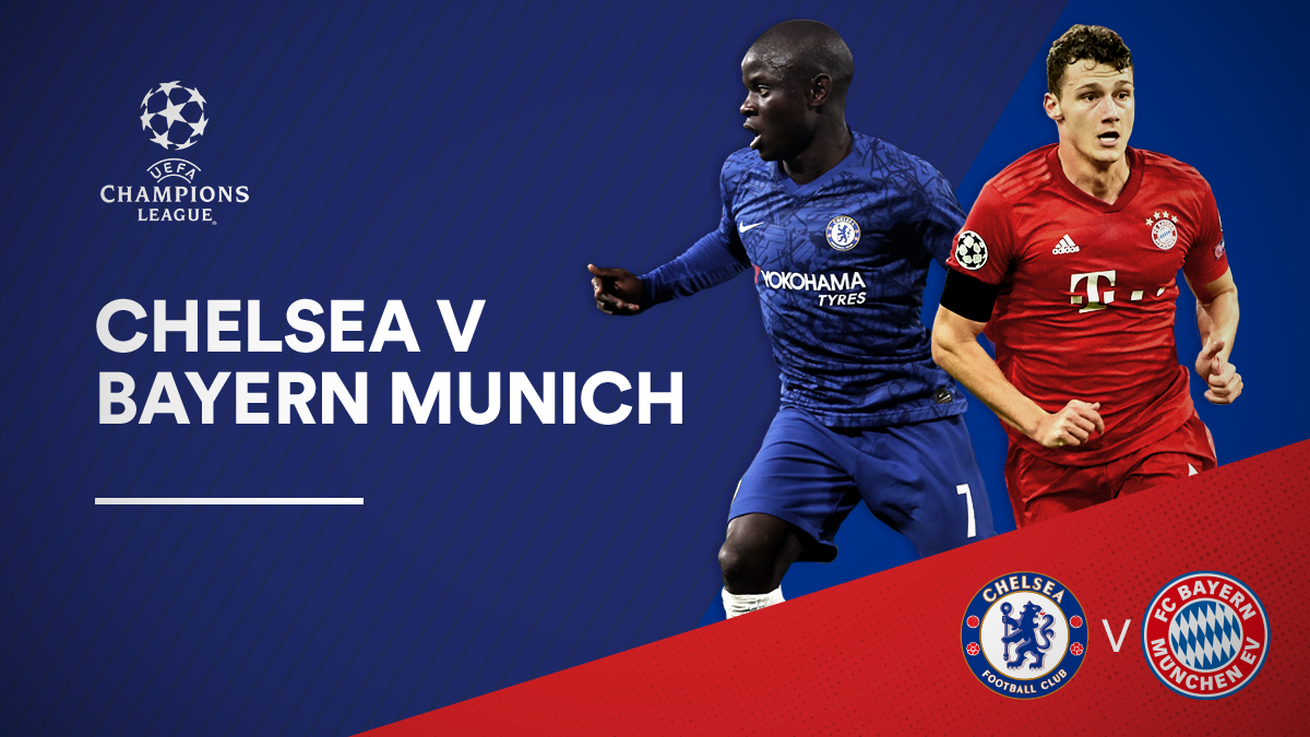 Chelsea v Bayern Munich in the UEFA Champions League