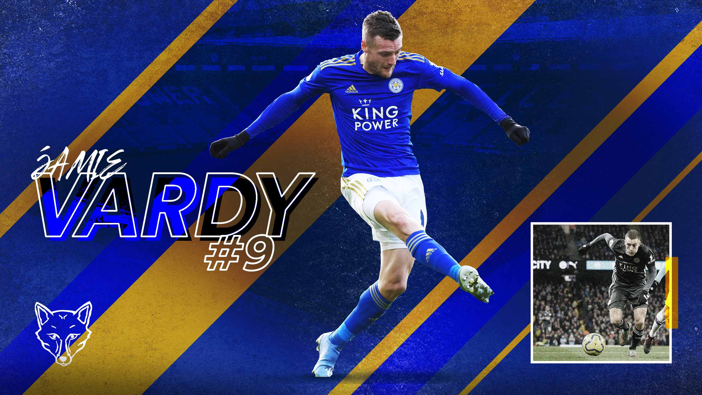 Leicester City player Jamie Vardy