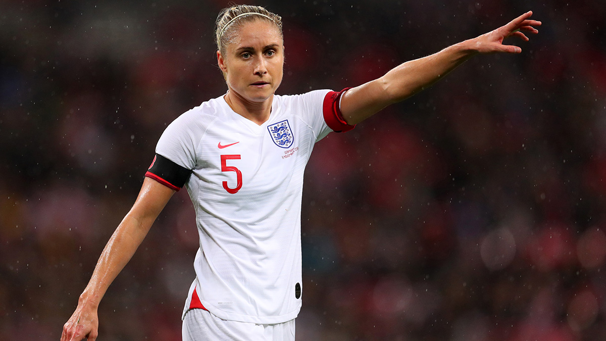England women's football captain Steph Houghton