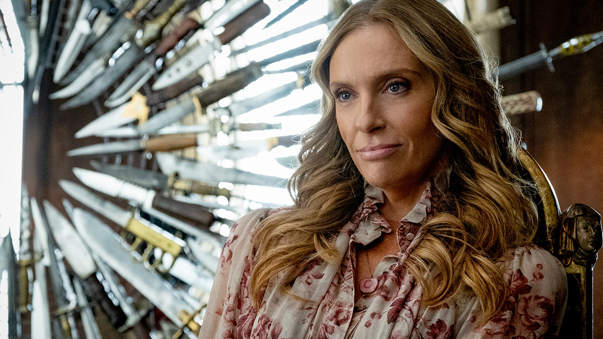 Toni Collette as Joni Thrombey in Knives Out