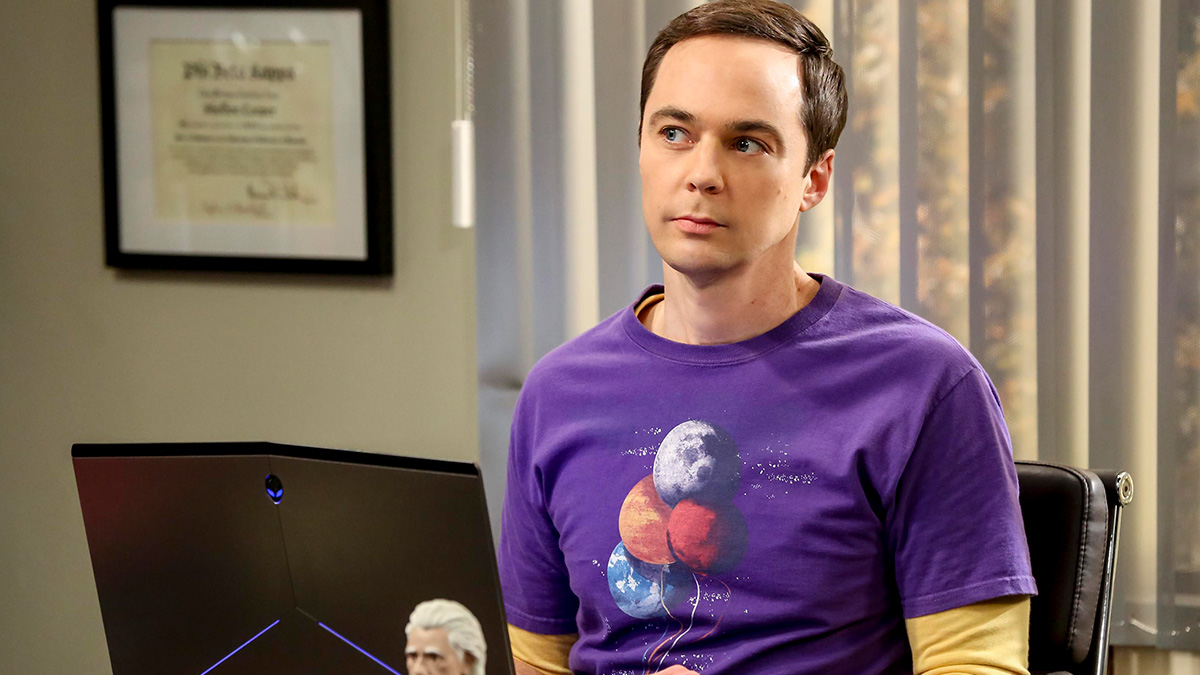 Jim Parsons as Sheldon Cooper in The Big Bang Theory