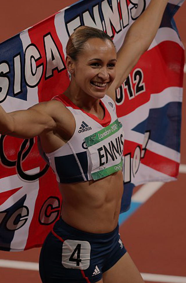 Jessica Ennis-Hill at the London 2012 Olympic Games
