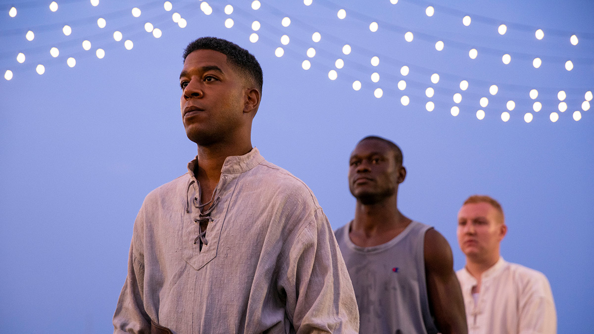 Scott Mescudi (Kid Cudi) in We Are Who We Are on BBC Three on BBC iPlayer