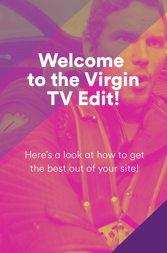 Welcome to Virgin TV Edit