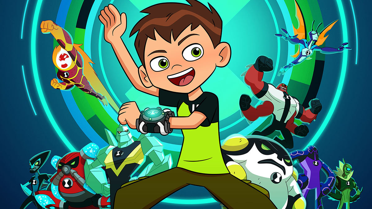 Ben 10 wearing his Omnitrix