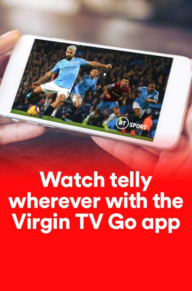 Download the Virgin TV Go app! | Virgin Media