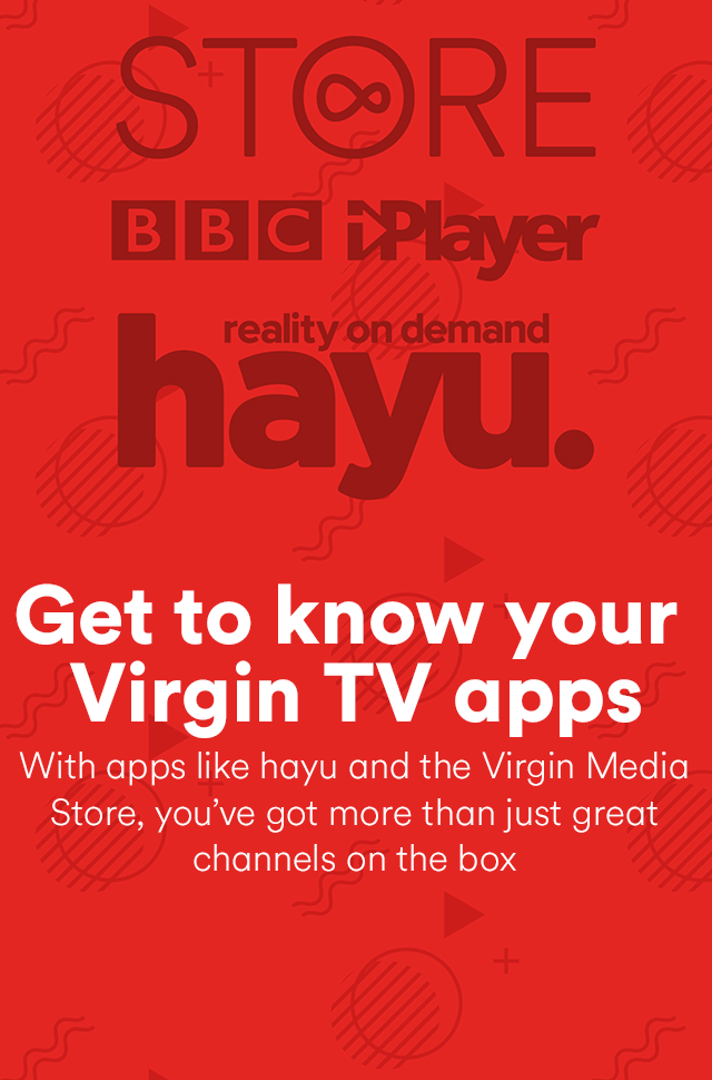 Virgin TV apps