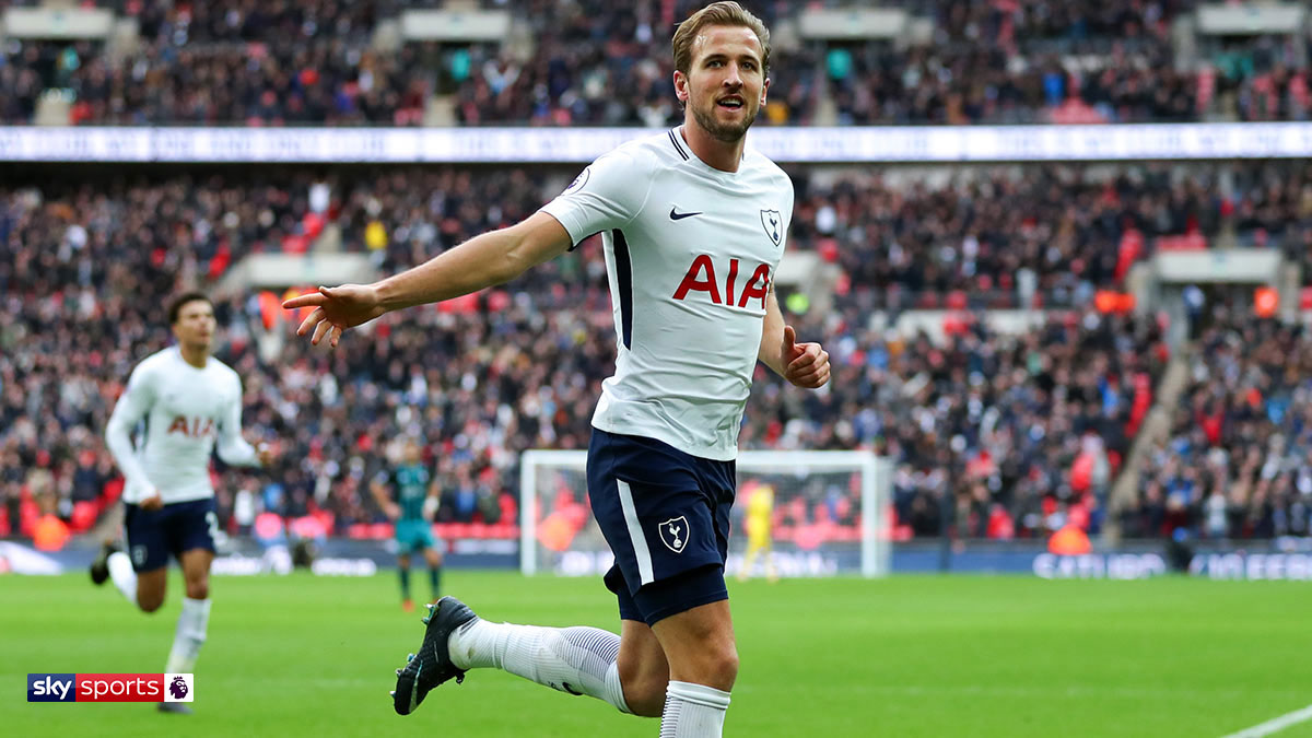 Harry Kane celebrating