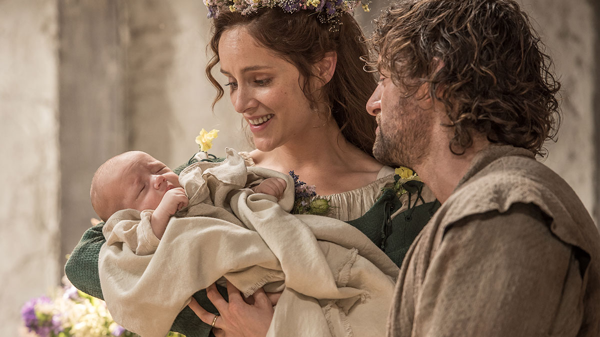 Sophie Rundle in Jamestown series 2